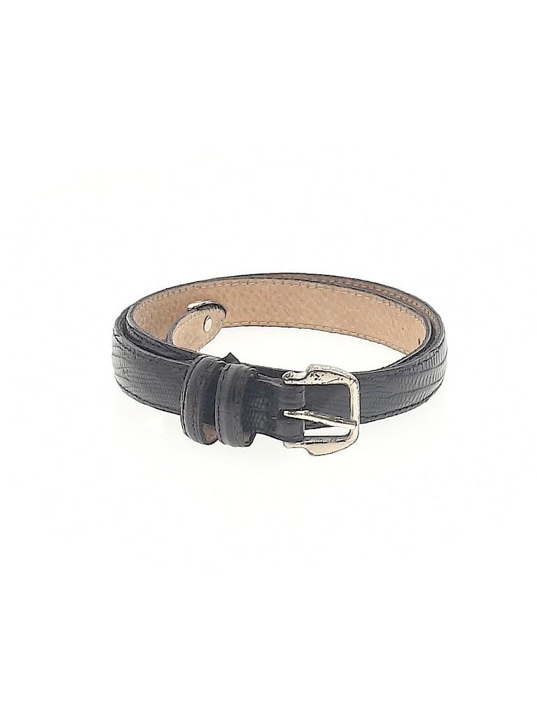 Banana Republic Women Leather Belt Size XXS