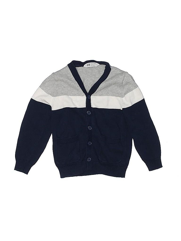 H&M Boys Cardigan Size 4/6