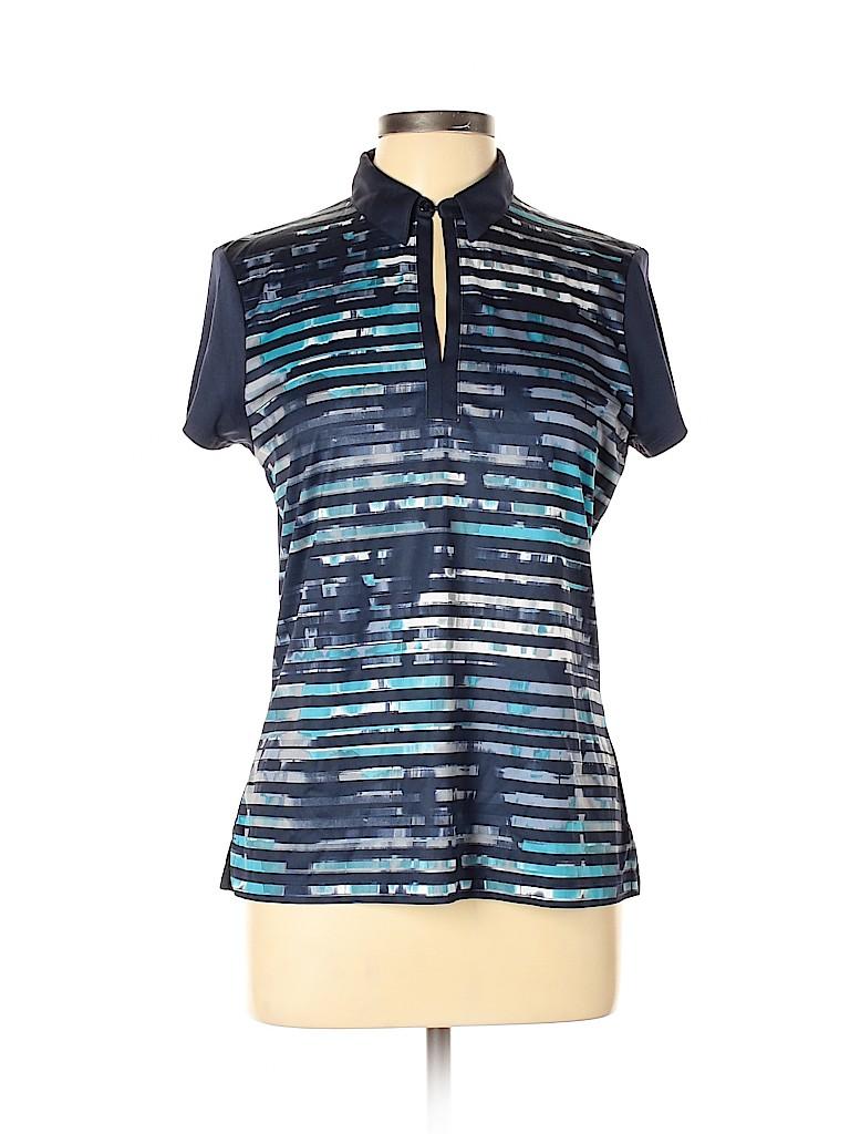 Callaway Women Short Sleeve Polo Size L