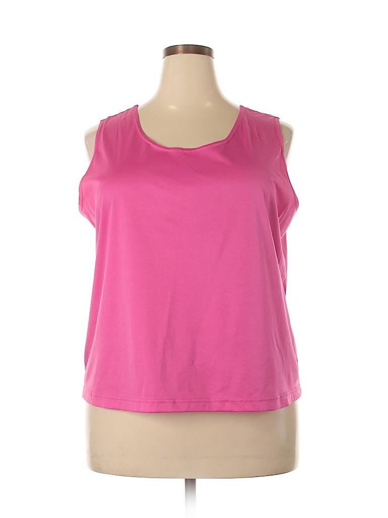 Cato Women Sleeveless Blouse Size 22 (Plus)