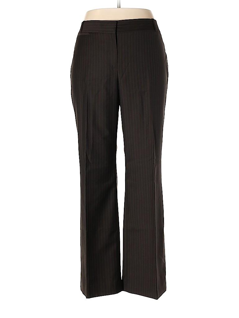 Ann Taylor Women Wool Pants Size 12 (Petite)