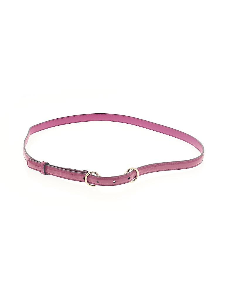 Gucci Women Leather Belt Size M