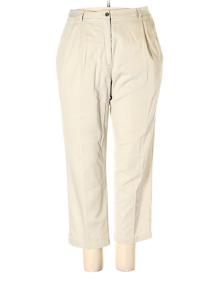 Liz Claiborne Women Khakis Size 20 (Plus)