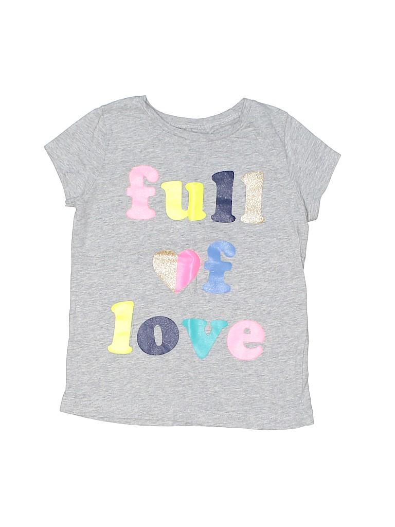 Carter's Girls Short Sleeve T-Shirt Size 5T