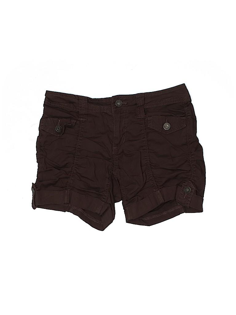 Bongo Women Khaki Shorts Size 1