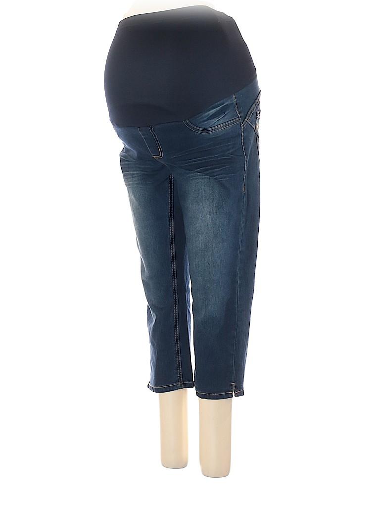 Paris Blues Women Jeggings Size M (Maternity)