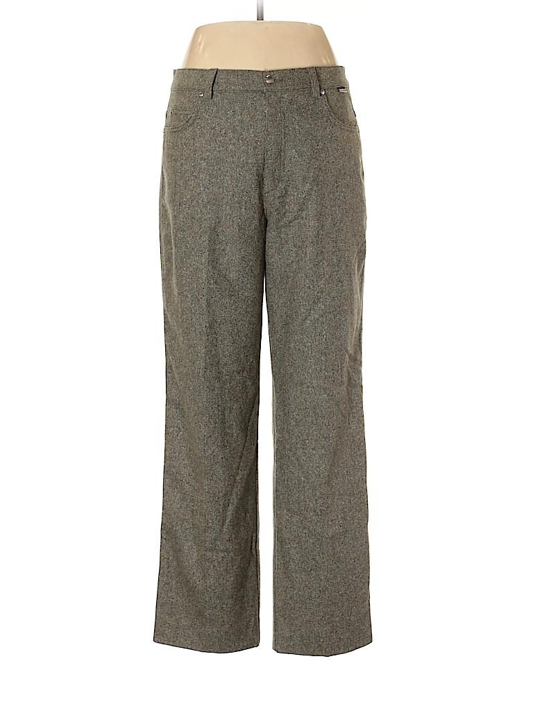 Escada Sport Women Wool Pants Size 42 (EU)