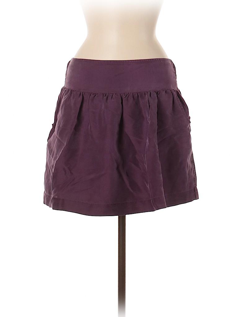 Lucky Brand Women Silk Skirt Size M