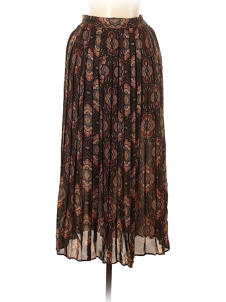 Brooks Brothers Women Silk Skirt Size 6