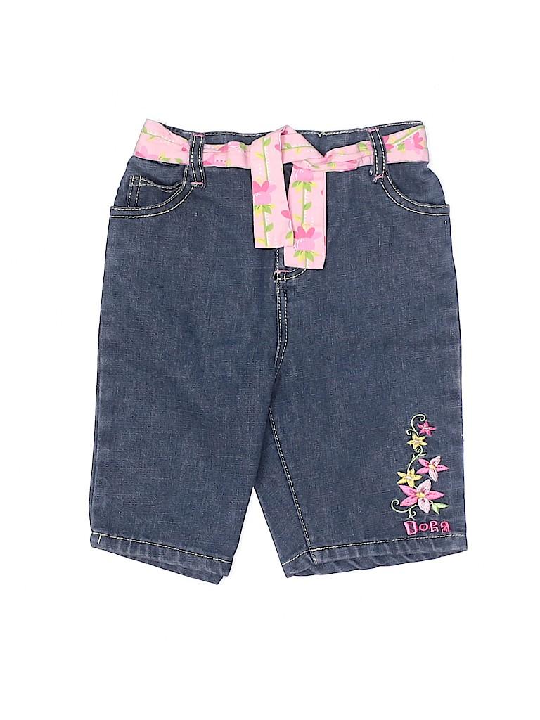 Nickelodeon Girls Denim Shorts Size 4T
