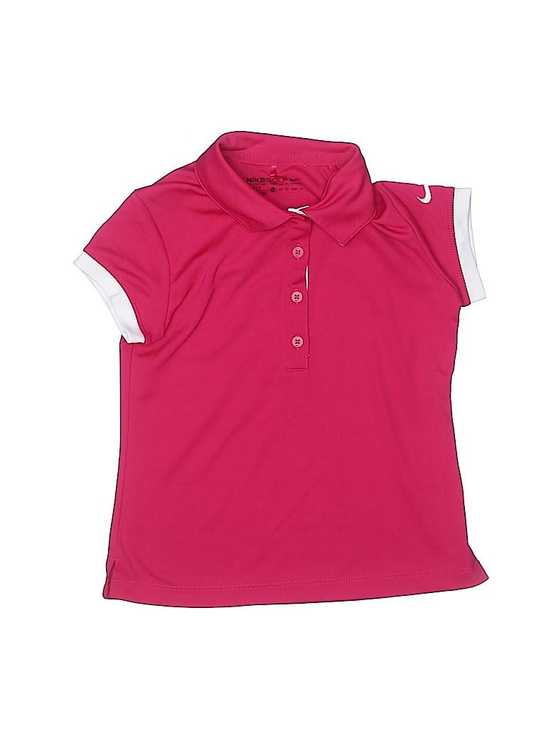 Nike Golf Girls Short Sleeve Polo Size X-Small (Kids)