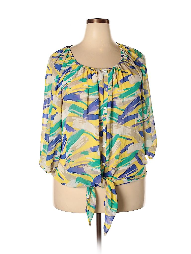 Lane Bryant Women 3/4 Sleeve Blouse Size 18 - 20 Plus (Plus)