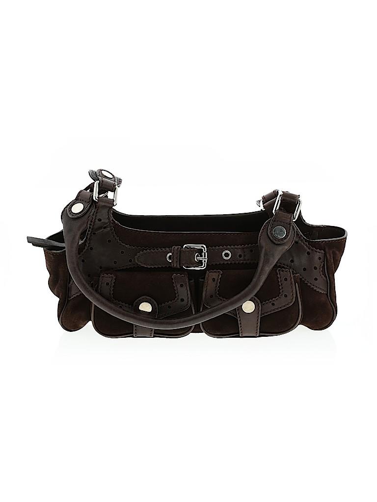 Max Mara Women Leather Shoulder Bag One Size