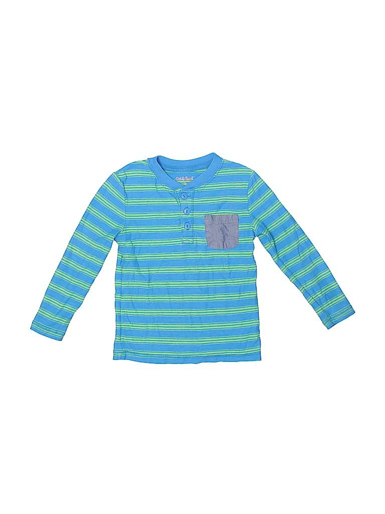 Cat & Jack Boys Long Sleeve Henley Size 4T