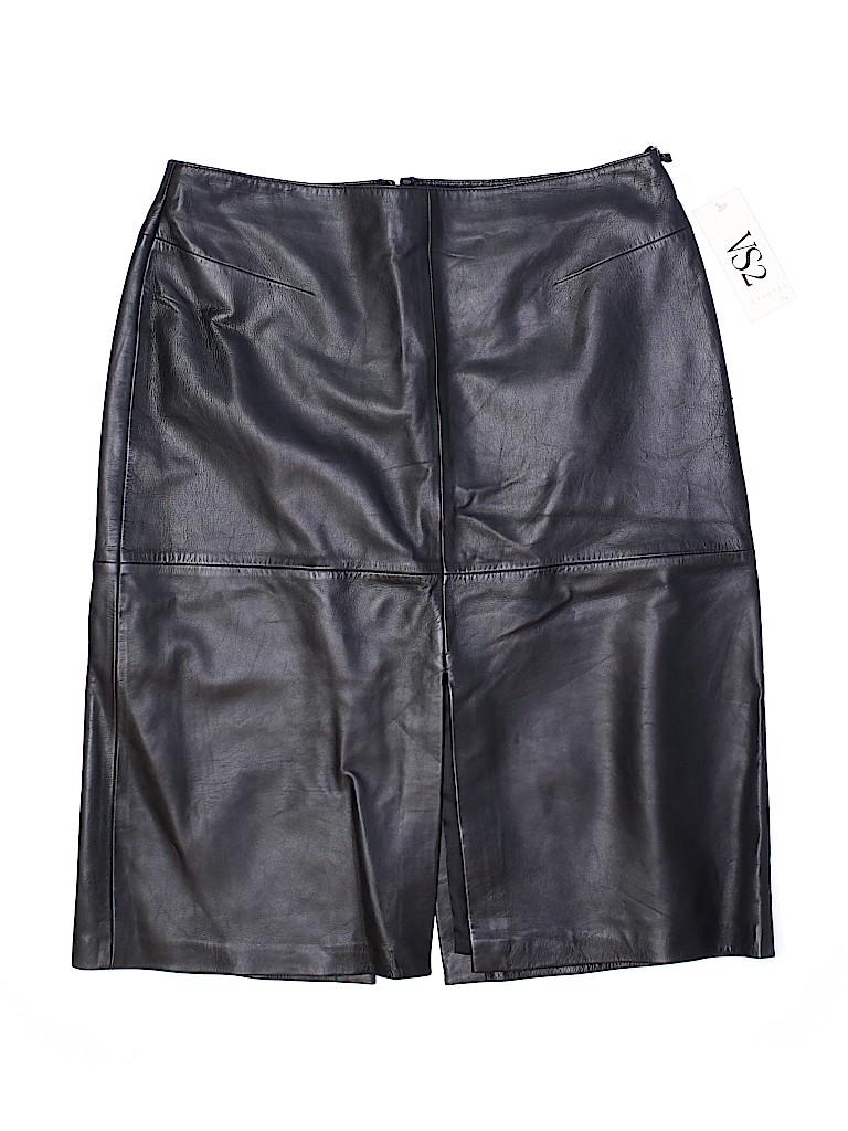 VS2 Women Leather Skirt Size 14