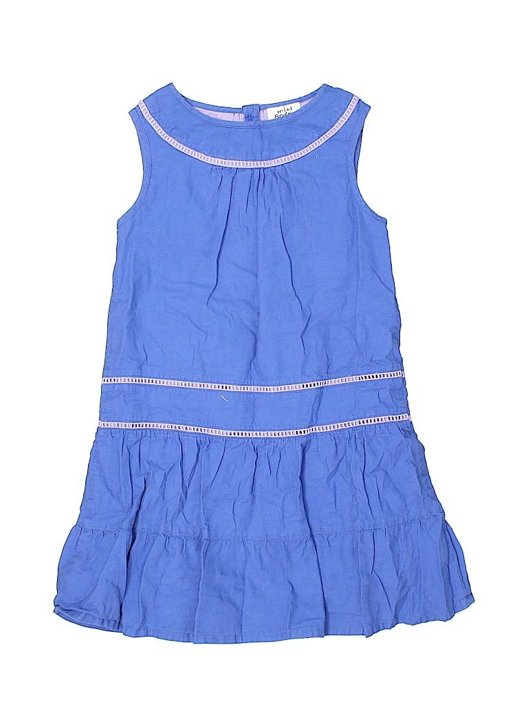 Mini Boden Girls Dress Size 5 - 6