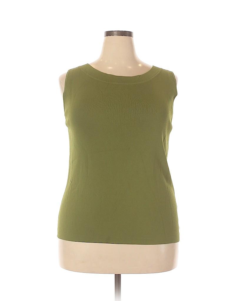 DressBarn Women Sleeveless Top Size 18 (Plus)