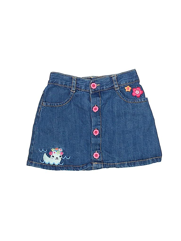Gymboree Girls Denim Skirt Size 3T
