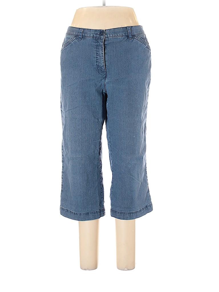 Karen Scott Women Jeans Size 14