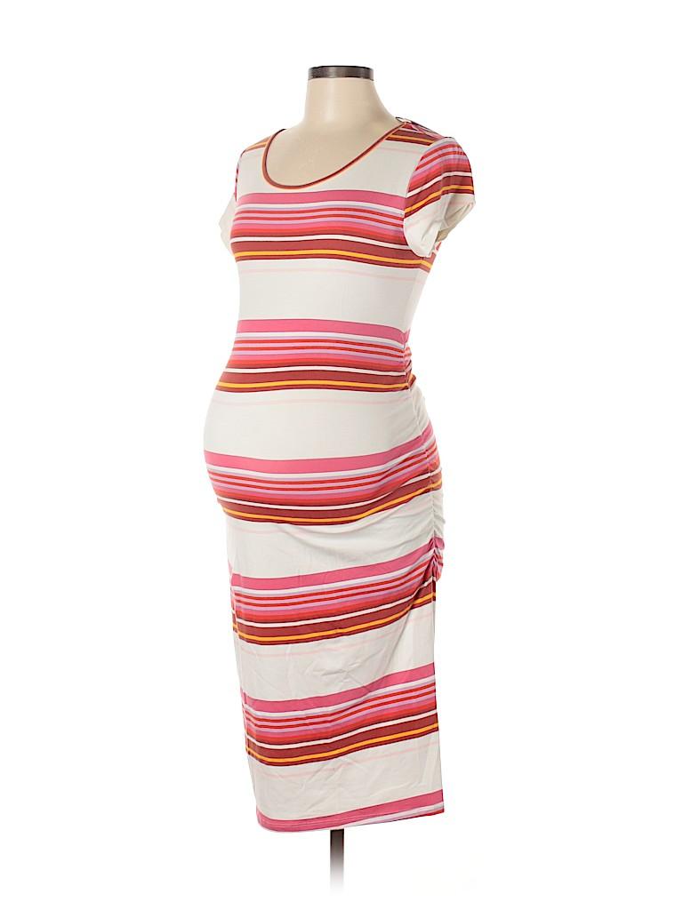 Isabel Maternity Women Casual Dress Size M (Maternity)