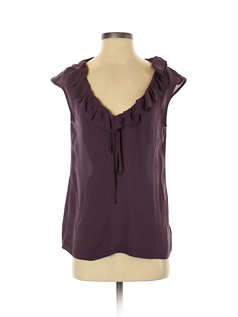 Tory Burch Women Sleeveless Silk Top Size 2