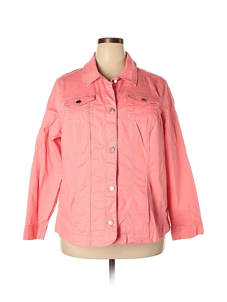 Croft & Barrow Women Jacket Size 2X (Plus)