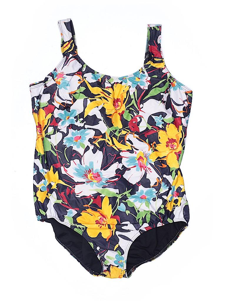 H2O Wear Women One Piece Swimsuit Size 24 (Plus)