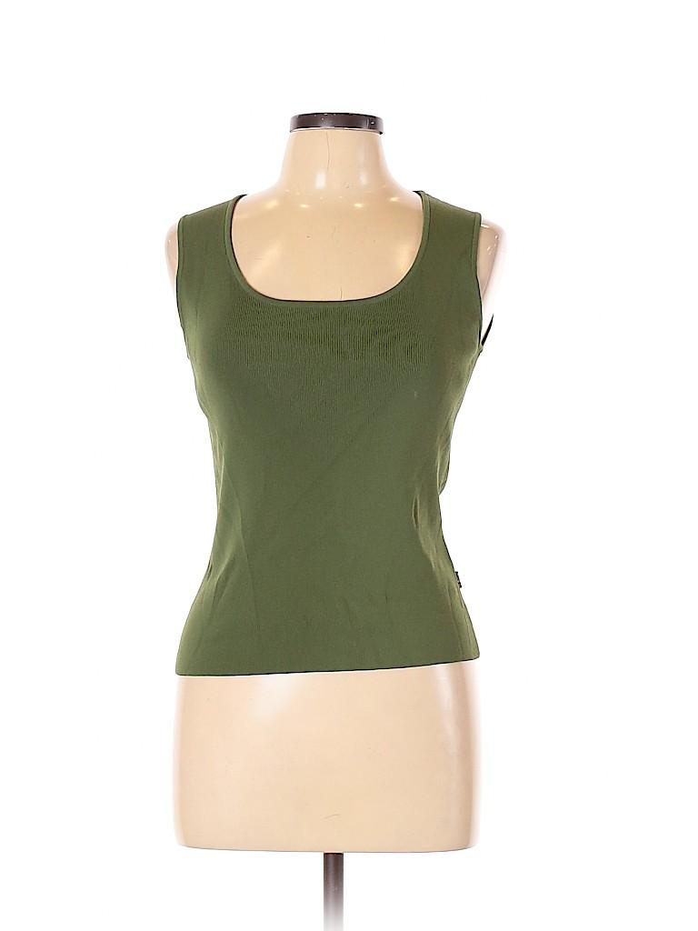 BCBGMAXAZRIA Women Sleeveless T-Shirt Size L
