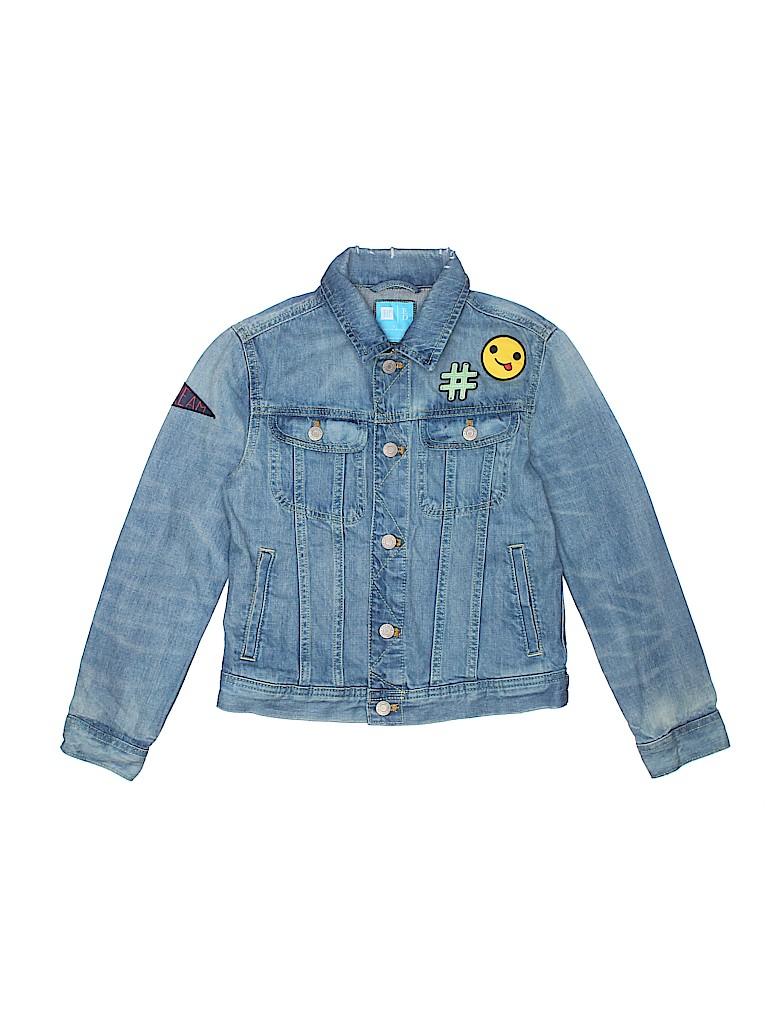 Gap Kids Boys Denim Jacket Size L (Youth)