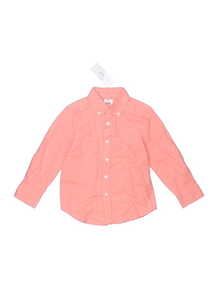 Gymboree Boys Long Sleeve Button-Down Shirt Size 4