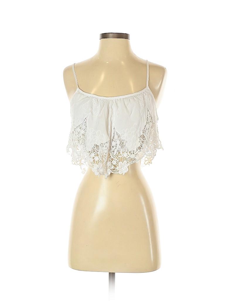 Charlotte Russe Women Sleeveless Blouse Size M