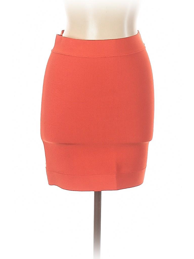BCBGMAXAZRIA Women Casual Skirt Size L