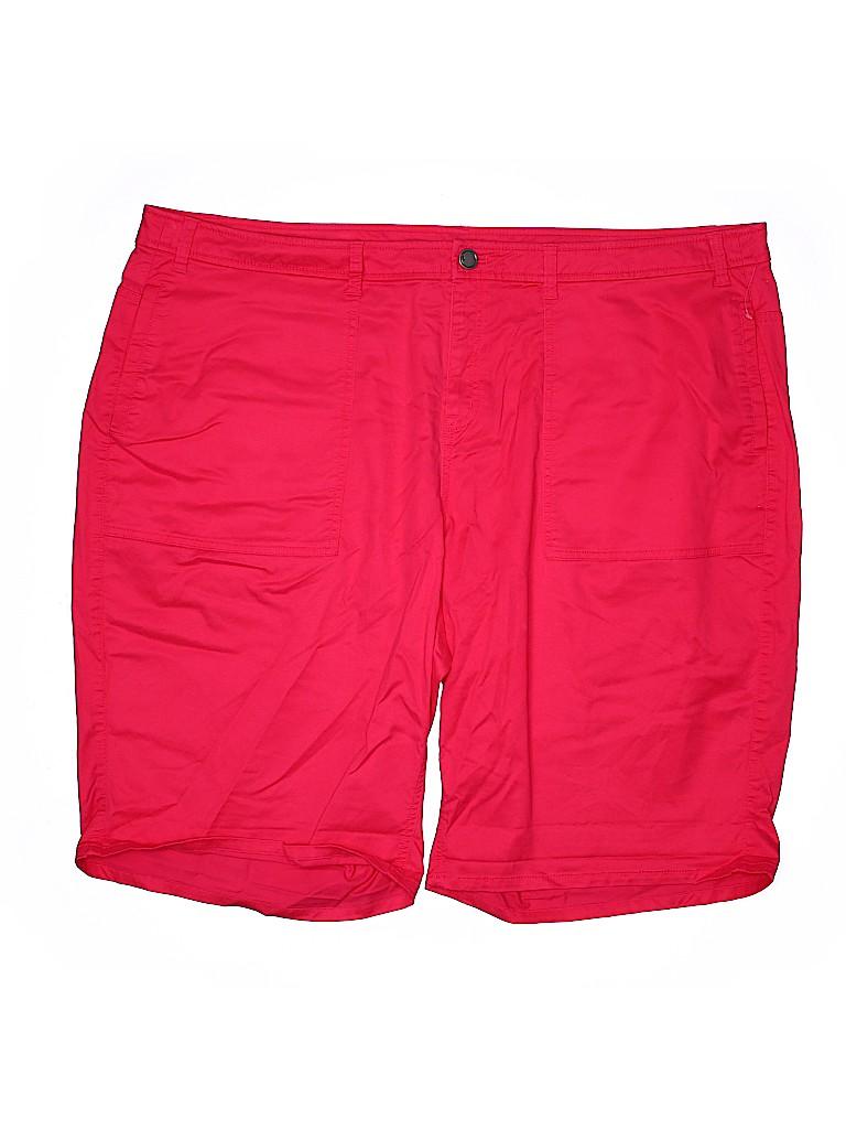 Lane Bryant Women Shorts Size 28 (Plus)