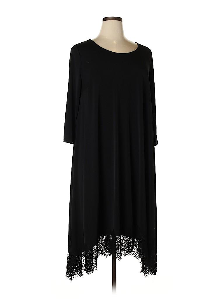 Lane Bryant Women Casual Dress Size 14 - 16 Plus (Plus)