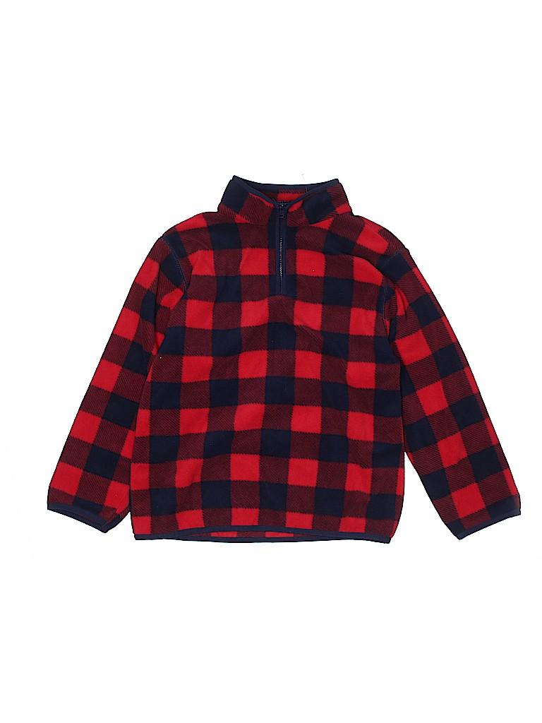 Gymboree Boys Fleece Jacket Size M (Youth)