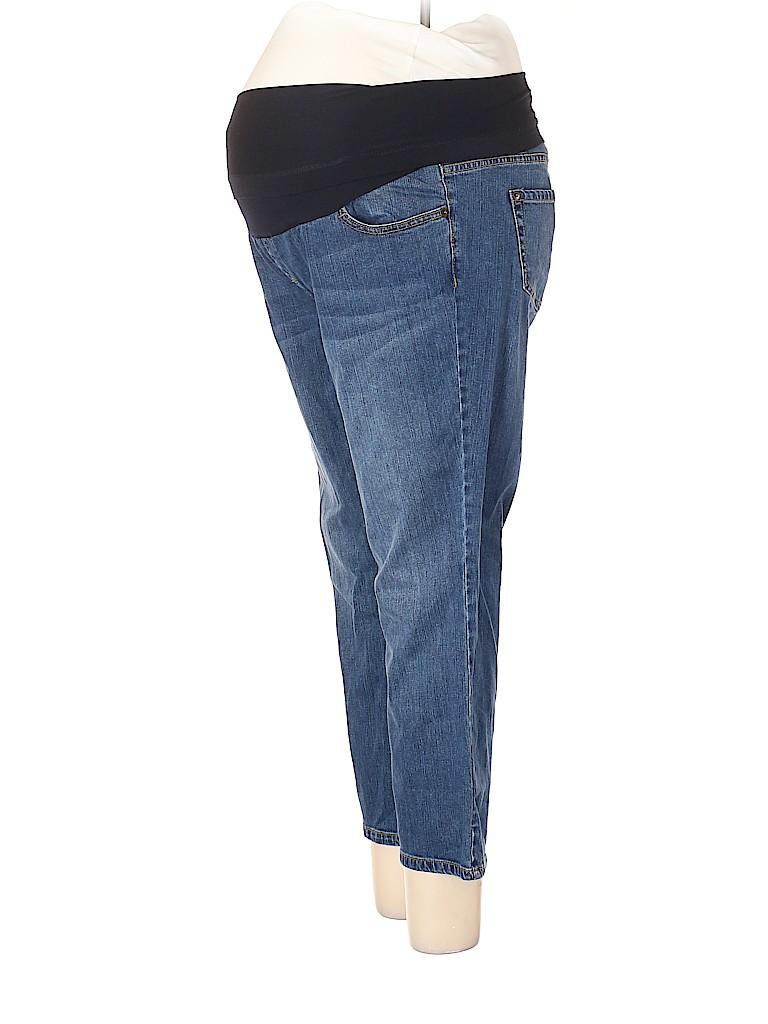 Liz Lange Maternity for Target Women Jeans Size 12 (Maternity)