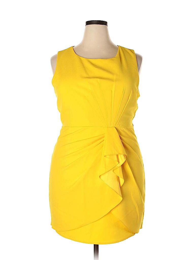 Renn Women Cocktail Dress Size 1X (Plus)