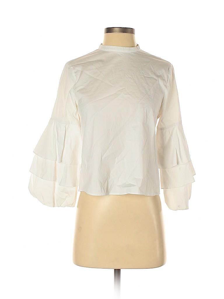 Zara Basic Women 3/4 Sleeve Blouse Size S