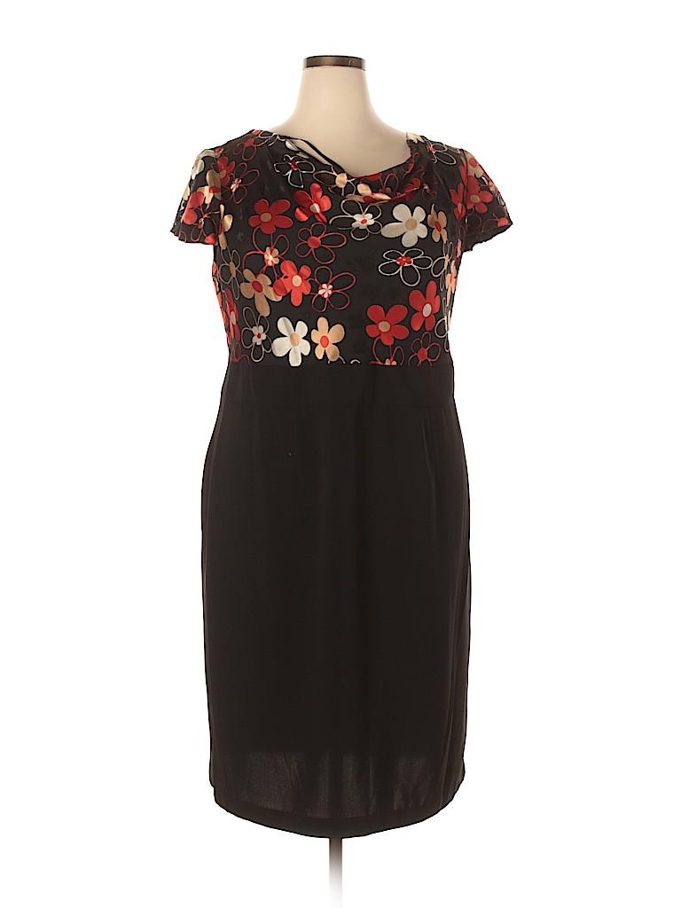 Dana Kay Women Cocktail Dress Size 18 (Plus)