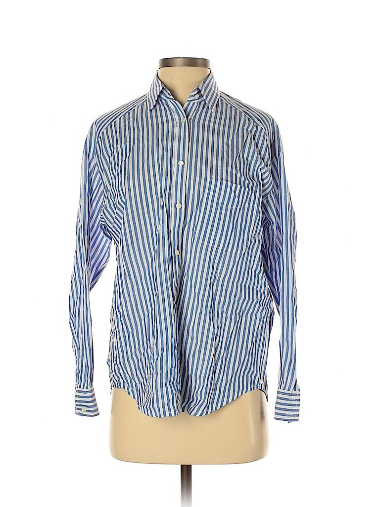 Vince. Women Long Sleeve Button-Down Shirt Size 2