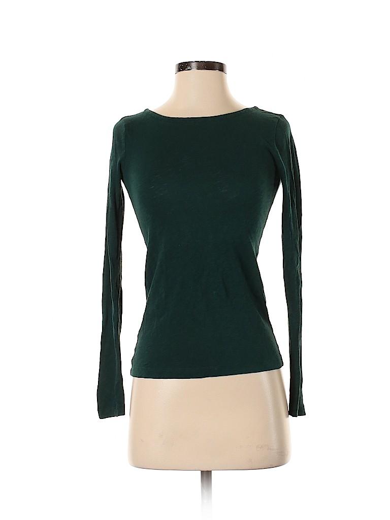 J. Crew Women Long Sleeve T-Shirt Size XXS