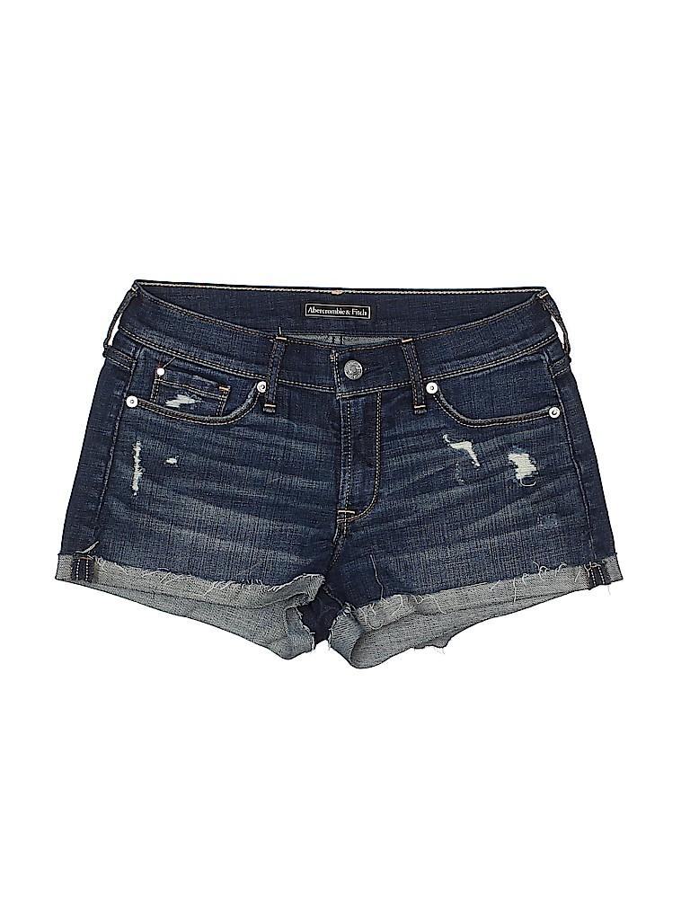 Abercrombie & Fitch Women Denim Shorts 25 Waist