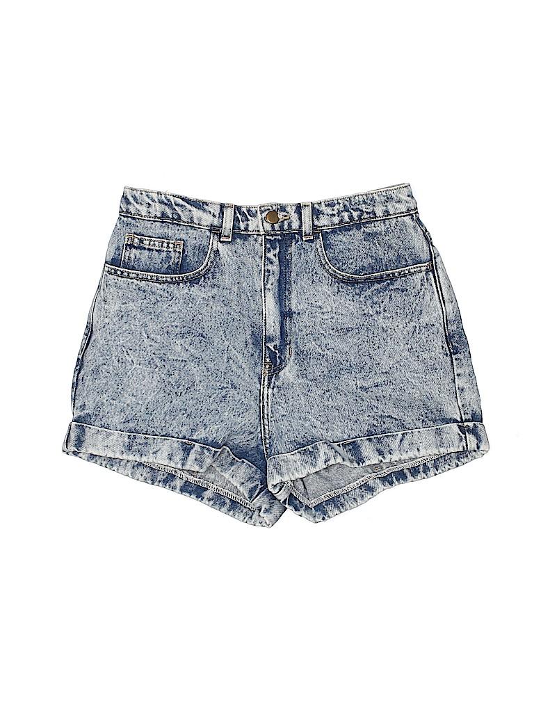 American Apparel Women Denim Shorts 30 Waist