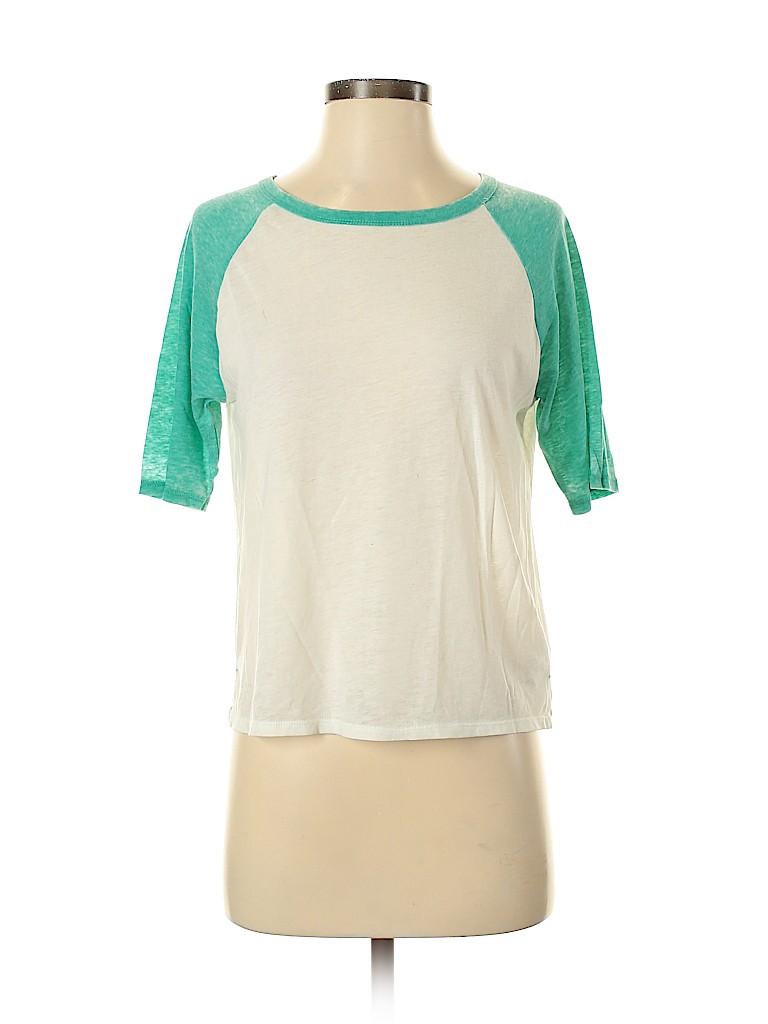 Forever 21 Women 3/4 Sleeve T-Shirt Size S
