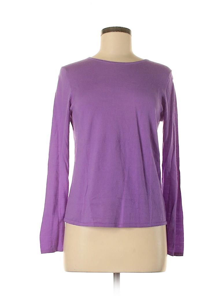 Eileen Fisher Women Wool Pullover Sweater Size M