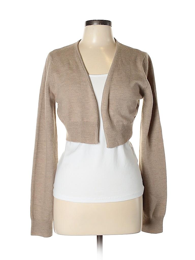 BCBGMAXAZRIA Women Wool Cardigan Size L