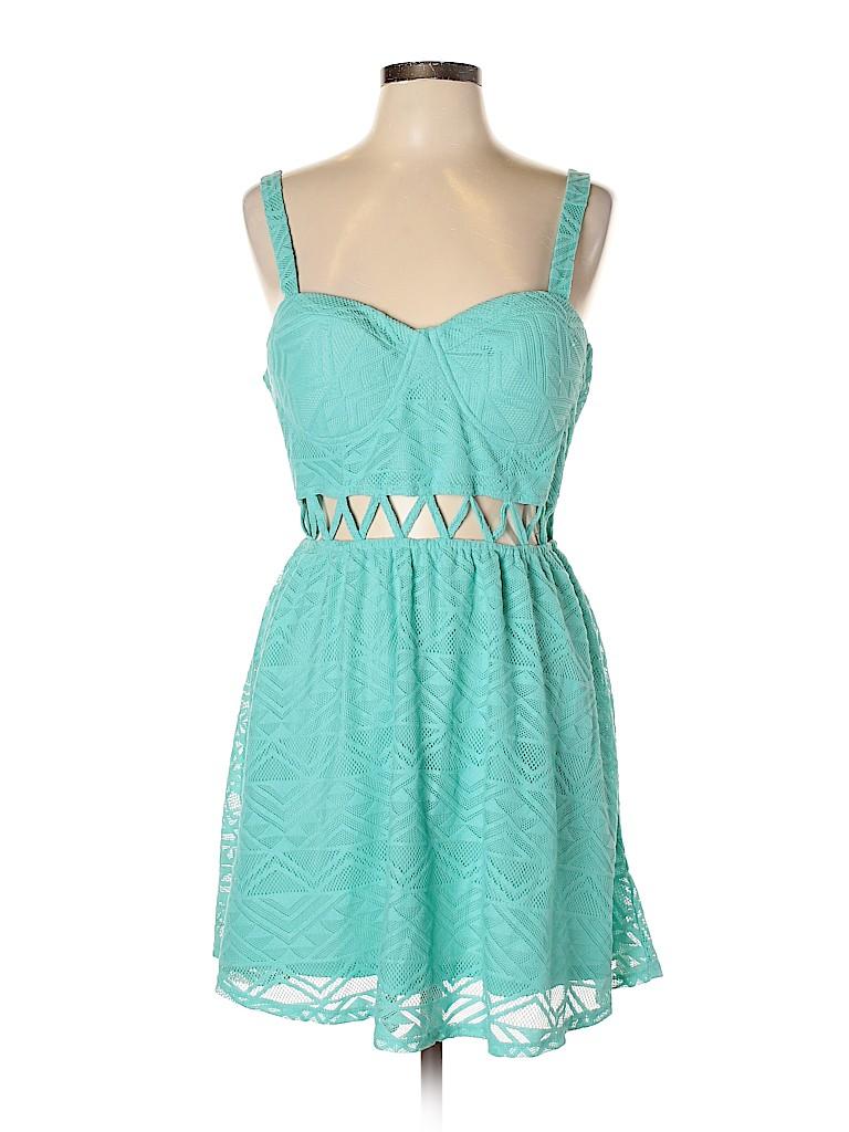 Material Girl Women Casual Dress Size L