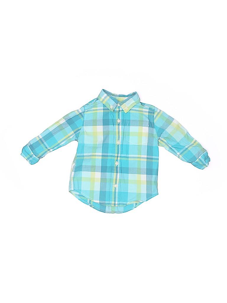 Gymboree Boys Long Sleeve Button-Down Shirt Size 12-18 mo