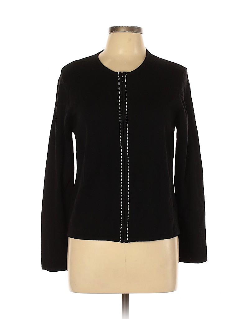 Carlisle Women Wool Cardigan Size L