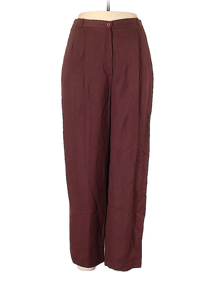 Liz Claiborne Women Linen Pants Size 14 (Petite)